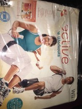 EA Sports Active: More Workouts -Game Disc & Nutrition Book- Nintendo Wii - $9.69