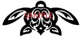 Black Turtle Cross Stitch Chart - $8.00