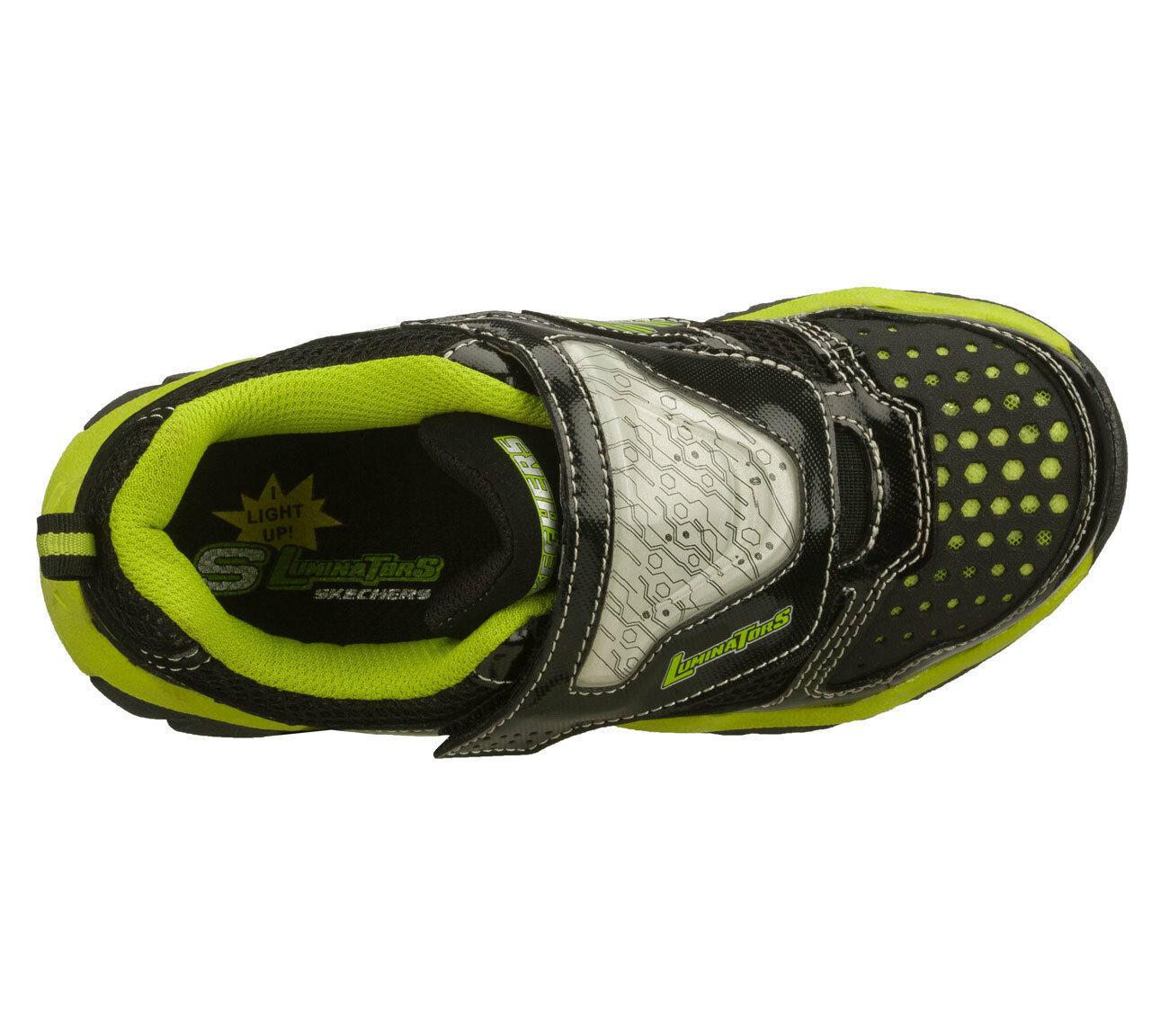 Skechers S-LIGHTS Luminators Si Illumina Athletic Scarpe Sneakers Nwt Youth 2 $ image 4