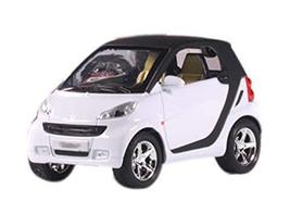 PANDA SUPERSTORE Children's Toy Car Model 1:32 Exquisite Car Toys Collector, Whi