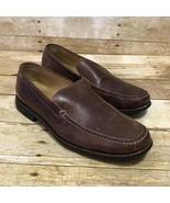 Johnston & Murphy Mens 9 1/2 Ainsworth Venetian Sheepskin Brown Leather ... - $39.95
