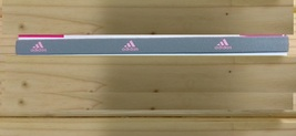 New Unisex Adidas Running HEADBAND Gray Pink Logo One Size All Sports  - $6.00