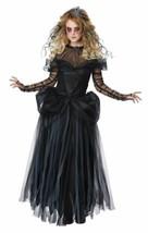 Dark Princess Halloween Costume Adult Women L  10-12 Black - $60.99