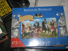 Military Miniatures Battle of Waterloo-French Calvary-1/72 Scale-Free Ship - $12.00