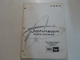 1963 Johnson 40 hp See Pferd Modelle RDS Rdsl 25D Elektro Teile Katalog ... - $13.84