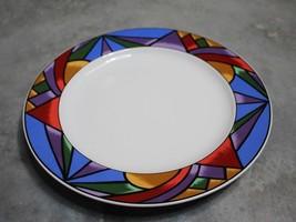 "Sakura Sunset Mountain 1993 12"" Round Serving Plate - $16.82"