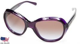 New Coach HC8197 L1617 524968 Deep Purple /BROWN Lens Sunglasses 55-19-140 B50mm - $72.25