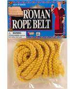 YELLOW ROMAN ROPE BELT ANCIENT ROME TUNIC BELT UNISEX ADULT COSTUME ACCE... - £6.17 GBP
