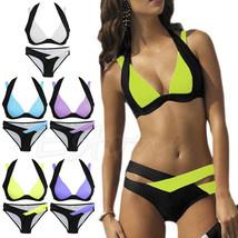 2017 Brand New Sexy Women Bikini Set Swimwear Bandage Monokini Push Up Padded Sw - $22.99