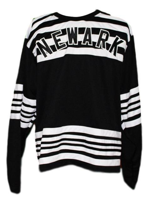 Newark bulldogs retro hockey jersey 1928 black   1