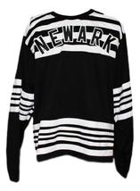 Custom Name # Newark Bulldogs Retro Hockey Jersey 1928 New Black Any Size image 1