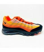 Nike Air Max 95 360 Dynamic Flywire Orange Black Mens Sneakers 554715 838 - $149.95