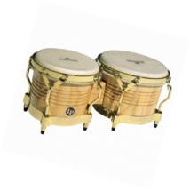 LP Matador M201-AW Wood Bongos (Natural, Gold) - $197.74