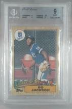 1987 TOPPS #170 Bo Jackson (KC Royals) Future Stars Baseball card. RATED 9. - $33.25