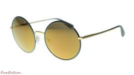 Dolce&Gabbana Mujer Gafas de Sol DG2155 1295F9 Gris / Marrón Espejo Bronce Lente - $161.69