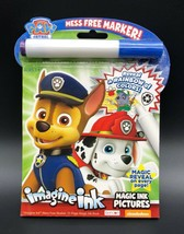Bendon 23826 Paw Patrol Imagine Ink Magic Ink Pictures w Magic Marker Mess Free - $7.95