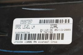 08-13 Cadillac CTS 4 door Sedan Halogen Headlight Lamp Set L&R image 11