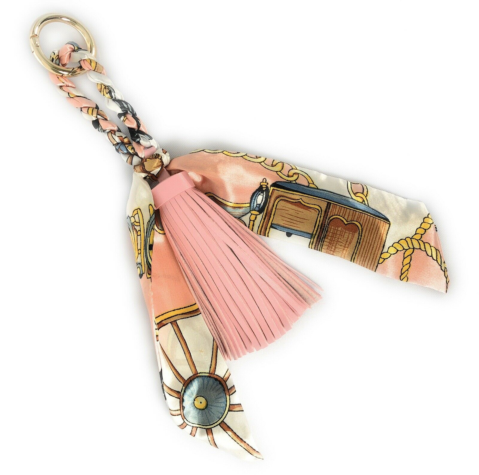 Primary image for Tassel And Scarf Handbag/purse Charm Women Accessory Key Ring US seller
