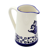 Hand-painted Traditional Portuguese Ceramic Pitcher - $39.95