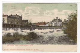 Big Stone Dam Somersworth New Hampshire 1910c postcard - $5.94