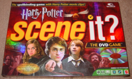 SCENE IT DVD GAME HARRY POTTER SCENE IT 2005 SCREENLIFE MATTEL COMPLETE ... - $30.00