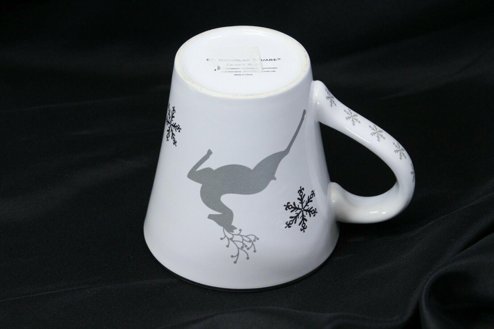 "St Nicholas Square Reindeer Believe Mug 4.5"" Tall image 7"
