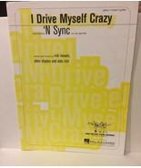 I Drive Myself Crazy 'N Sync Sheet Music - $3.99