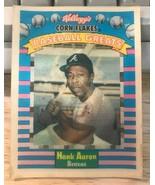 1991 Kelloggs Sportflics #2 Hank Aaron - Atlanta Braves - $1.93