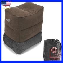 Inflatable Travel Footrest Rest Pillow Leg Foot cusion Portable Pad Kids... - €28,97 EUR