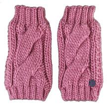 Bench Leyko Woodley Fingerless Acrylic Knit Pink Gloves image 1