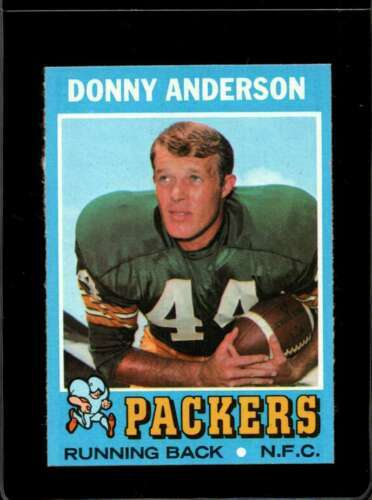 1971 TOPPS #162 DONNY ANDERSON EXMT PACKERS  *X2774