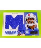 NFL EJ MANUEL BUFFALO BILLS 2013 PANINI IN MAMMOTH JERSEY RC SP 07/99 - £3.40 GBP