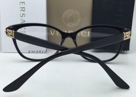 New VERSACE Eyeglasses VE 3205-B 5061 52-16 Tortoise & Gold Frame w/ Crystals