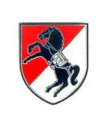 United States Army 11th Armored Cavalry Regiment ACR Hat Lapel Pin - $4.94