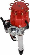 R2R Distributor 50K Volt E-Coil SBC BBC 327 350 396 454 Chevrolet Red Small Cap image 3