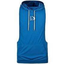 HASIDING Compression Hoodie Vest for Men Sleeveless Stringer Muscle Gym ... - $15.84