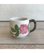 "Franciscan Desert Rose Coffee Mug Cup 2 5/8"" Modern Logo - $14.84"