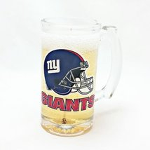 New York Giants Beer Candle - Mineral Oil Based Gel Candle MADE IN USA - $19.35