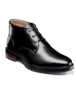 Florsheim Astor Plain Toe Chukka Men's Boot Lace Up Black 13340-001 - £77.56 GBP