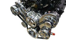 CHEVY GM LS LS1 LS2 LS6 FRONT DRIVE SERPENTINE PULLEY KIT GM CHEVROLET 5.7L 6.0L image 3