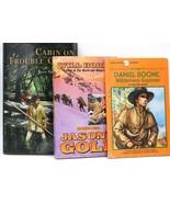 Jason's Gold, Daniel Boone, Cabin On Trouble Creek Frontier Adventure Bo... - $11.87