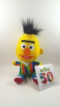 "Bert Hasbro Plush Doll 8"" Sesame Street Stuffed Toy 2018 - $19.75"