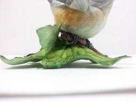 THE LENOX GARDEN BIRD COLLECTION Tufted Titmouse (Fine Porcelain 1986) image 10