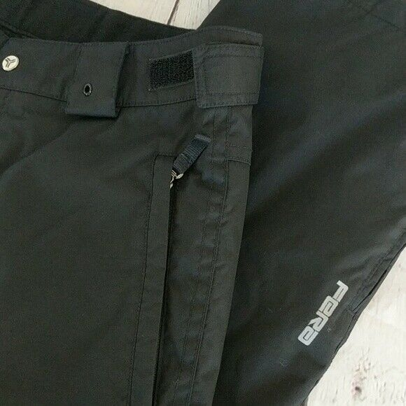 FERA | Men's Black Insulated Ski Snow Pants Size 34 Small - Winter Skiing
