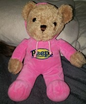 Just Born Peeps Teddy Bear Express Your Personality With Pink Hoodie Paj... - $1.99