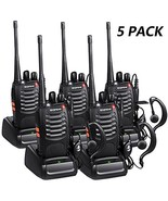 Walkie Talkies Long Range with Earpiece Mic Handheld UHF Radio Baofeng B... - $67.38