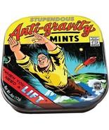 Stupendous Anti-Gravity Mints in Illustrated Tin Box .4 ounces/12 g., NE... - $3.99