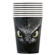 Unique 79176 How to Train Your Dragon Party Paper Cups, 9 oz., 8 Ct., Multi, One - $3.91