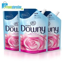 Downy Ultra April Fresh Liquid Fabric Conditioner Smart Pouch, Fabric So... - $16.47