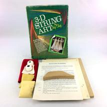 3D String Art Kit Schooner By Ship Shop Vintage 70s Model SA0912-1 3-D B... - $33.00